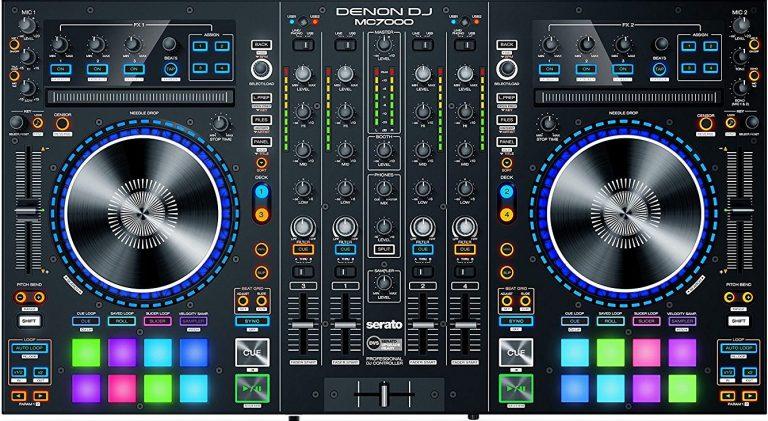 کنترلردی جی Denon DJ MC7000