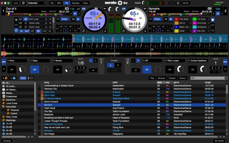 Serato DJ (سراتو دی جی)