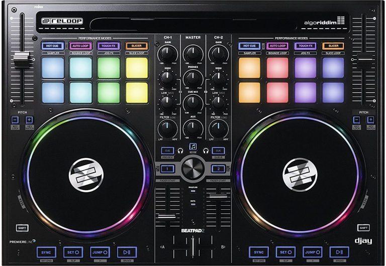 کنترلر دی جی Reloop Beatpad 2
