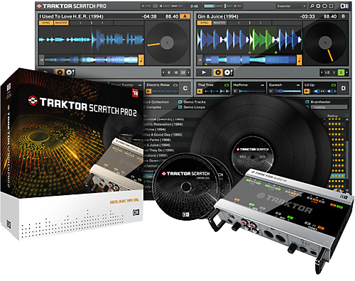 Traktor Scratch Pro 2مثالی از سیستم DVS  که دیجی ستاپ های موجود را به دیجیتال ستاپ هایی که قابلیت کنترل نرم افزار های دیجی را دارند تبدیل میکند.