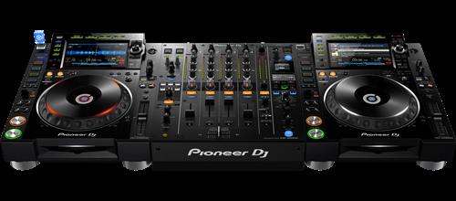 یک سیستم  Pioneer DJ pro که در بهترین کلاب های سرتاسر دنیا نصب شده اند.